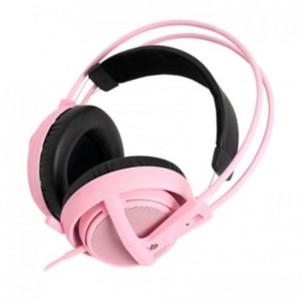 Steelseries Siberia V2 Full Size Head Set Pink