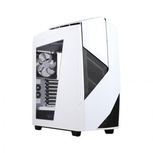 NZXT Noctis 450 Mid Tower Computer Case Glossy White
