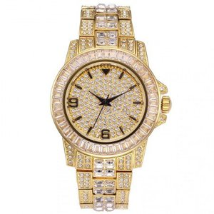 18K Gold Plated Rolexable Luxury Watch