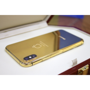 Apple iPhone X 256GB 24kt Gold Plated