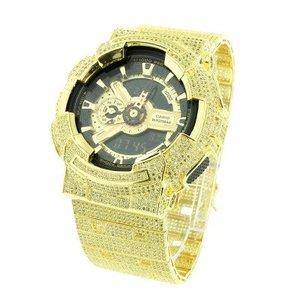 Casio G Shock GA110GB-1A Mens Watch 14kt Gold Plated