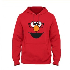 Elmo Glasses Hoodie By Next Level Clothing