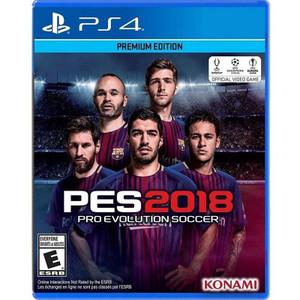 Pro Evolution Soccer 2018 For PlayStation 4