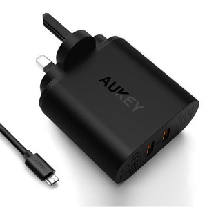 AUKEY PA-T16 2-Port 36W Wall Charger with QC 3.0 With Official Warranty