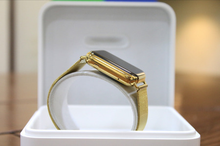 Apple Watch Series 3 42mm 24kt Gold Plated