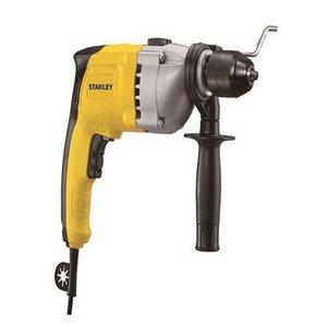 Stanely STDH7213K Drill Machine Impact 13mm 720w Vari + Rev Metal Head Kitbox