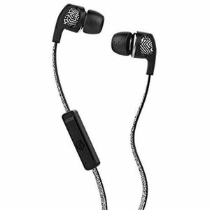 Skullcandy Dime White Gio Black with Mic S2PGGY-380