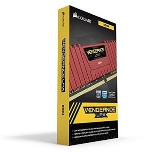Corsair Vengeance CMK8GX4M1A2400C16R LPX 8GB (1x8GB) DDR4 DRAM 2400MHz C14 Memory