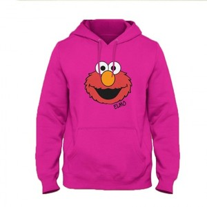 Elmo Face Hoodie By Next Level Clothing