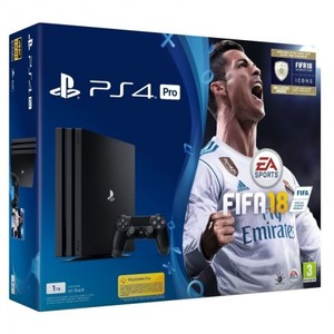 Sony PlayStation 4 Pro 1TB With FIFA 18