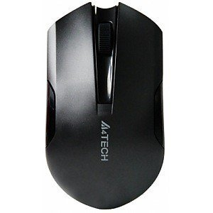 A4TECH G3-200N Padless V-Track Wireless Mouse Black