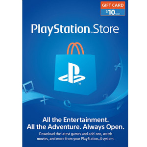 USA Playstation Network Gift Card 10$