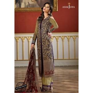 Asim Jofa - Luxury Lawn Collection 18 - AJL18-06B