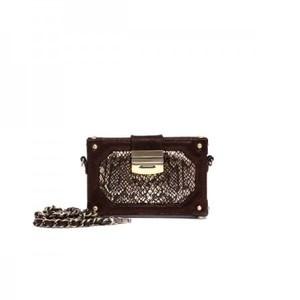 Glam Mini Box Burnished Bronze Bag By Julke