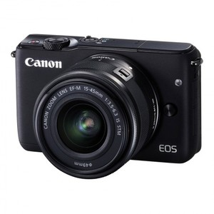 Canon EOS M10 DSLR Camera With 15-45mm Lens With Warranty