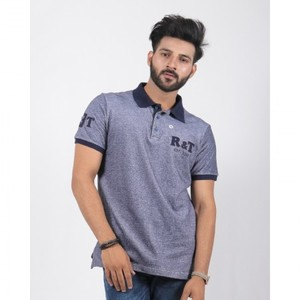 Red Tree- Navy Polo With R&T Batches - RT1562