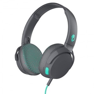 Skullcandy Riff On-Ear Headphones With Mic Grey Speckle Miami