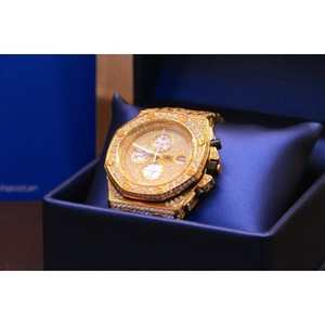Customized 14kt Gold Plated Presidential Luxury watch 47mm