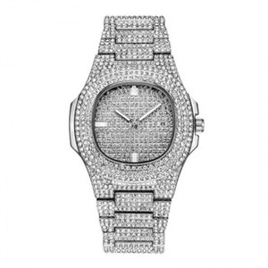 Giorgio Luxus 18kt White Gold Plated Watch GLW82