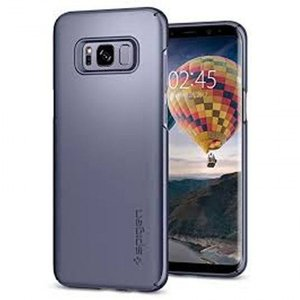 Spigen Thin Fit Orchid Gray Case For Galaxy S8