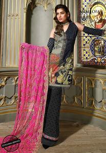 Asim Jofa - Luxury Lawn Collection 18 - AJL18-09B