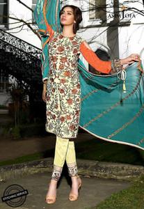 Asim Jofa - Luxury Lawn Collection 18 - AJL18-13A
