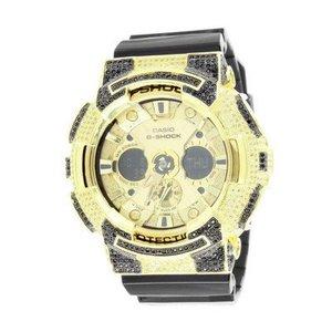 Casio G Shock GA200GD Mens Watch 14kt Gold Plated