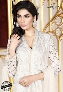 Asim Jofa - Luxury Lawn Collection 18 - AJL18-01A