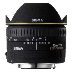 Sigma 15mm f/2.8 EX DG Diagonal Fisheye Lens for Canon