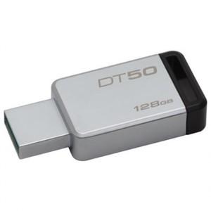 Kingston 128GB USB 3.0 DataTraveler 50(METAL/BLACK) With Official Warranty