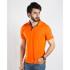 Red Tree - Orange Cotton Polo - RT1534s