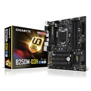 Gigabyte GA-B250M-D3H (rev 1.0) LGA 1151 Motherboard With Warranty