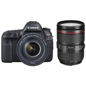 Canon EOS 5D Mark IV with 24-105mm F4 L Lens With Warranty