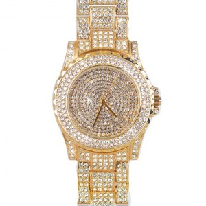 Gold Plated Luxury Watch For Women