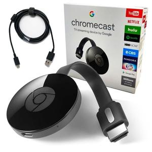 Google Chromecast 2 HDMI Streaming Media Player - Black (N)