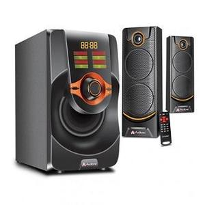 Audionic Mega M-45 Speaker 2.1 Channel, Wireless FM Radio, USB Supported LED Display