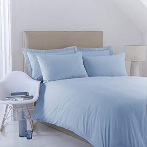 Plain Dyed Bedsheet - Light Blue - Single
