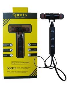 Wireless Sport Bluetooth Handsfree Earpod Headset - Black