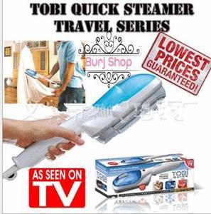 Burj Shop Tobi Steam Iron Brush - Blue & White