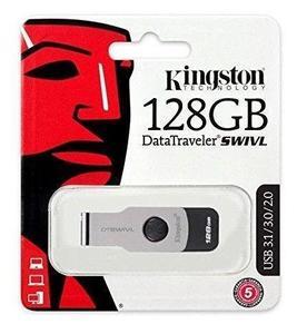 Kingston 128GB Swivl DataTraveler 3.1 USB Flash Drive