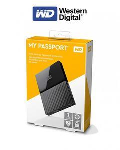 My Passport Portable External Hard Drive - 1Tb - Black