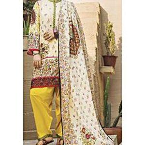 AlmirahNatural LAWN Stitched Suit