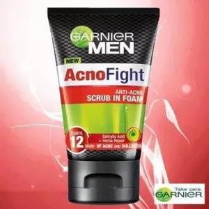 Garnier Men Acno Fight (Anti Acne) Scrub in Foam 100 ml