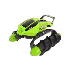 Toy Galaxy Amphibious RC Tank - Remote Control Stunt Car - 2.4G - Green