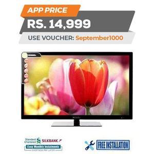 "NOBEL HD LED TV - 32 - Black"""