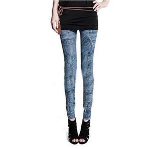 3D Print Denim - Jeans Look Legging Pant