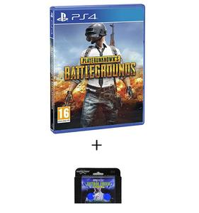 PLAYSTATION 4 DVD PLAYERUNKNOWN BATTLEGROUNDS PUBG PS4 PLUS KONTROL FREEK