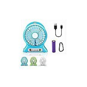 2 in 1 Rechargeable Portable Mini Power Bank + Fan By Deals