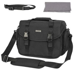 Camera Bag Shockproof Waterproof DSLR SLR Camera Messenger Bag Case For Canon Nikon Sony Panasonic Olympus And Lens
