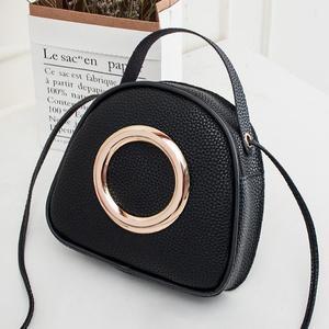 MissFortune Fashion Lady Shoulders Small Handbag Letter Purse Mobile Phone Messenger Bag